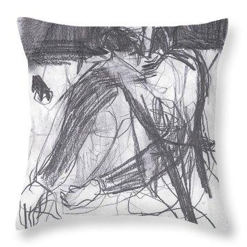Net Landscape Throw Pillow