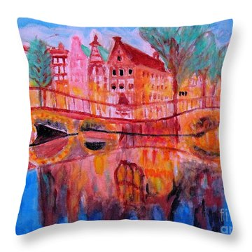 Netherland Dreamscape Throw Pillow