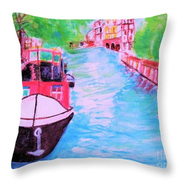 Netherlands Day Dream Throw Pillow