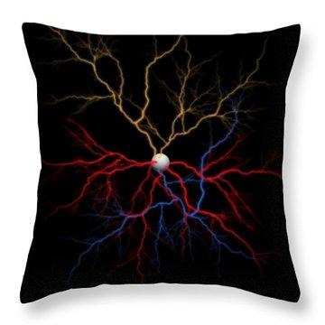 Neuron X1x Example Throw Pillow