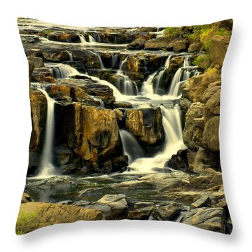 Nevada Falls 5 Throw Pillow by Marty Koch