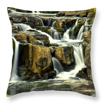 Nevada Falls Throw Pillow by Marty Koch