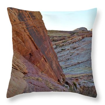 Nevada Rocks 2 Throw Pillow