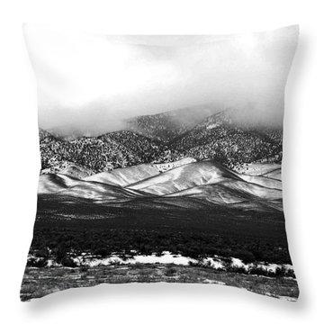 Nevada Snow Throw Pillow
