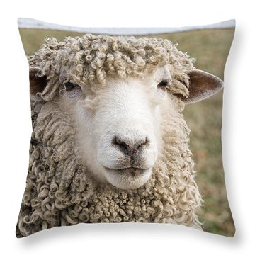 Never Ask For A Fully Bodied Perm Throw Pillow