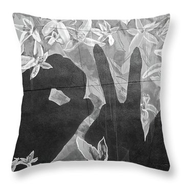 Throw Pillow featuring the photograph Never Forget by Juergen Weiss