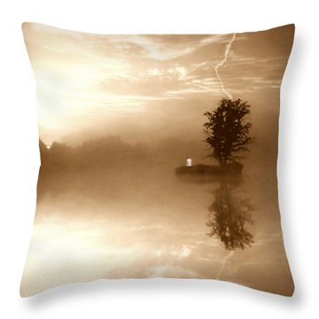 Never Forget Me Throw Pillow