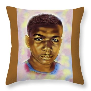Never Forget Trayvon Throw Pillow
