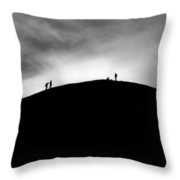 Throw Pillow featuring the photograph Never Give Up by Pradeep Raja Prints