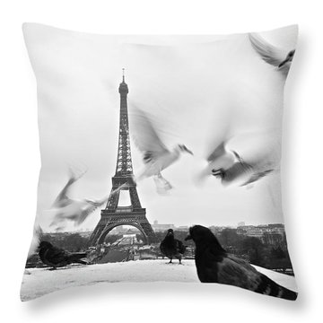 Throw Pillow featuring the photograph Never Heard Of Mental Slavery by Danica Radman
