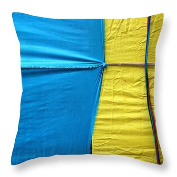 Never Let Go Throw Pillow by Prakash Ghai