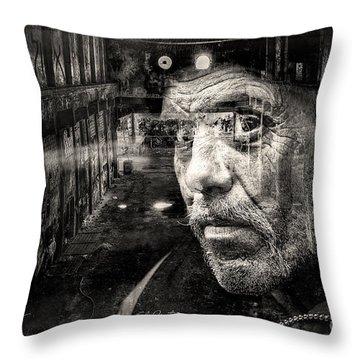 Never Sleep Throw Pillow by Chris Armytage