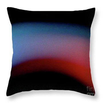 Never The Twain Throw Pillow by CML Brown