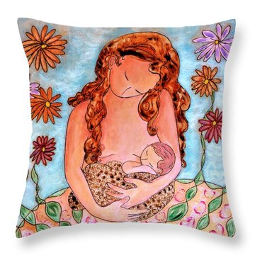 Never Tired To Look At You Throw Pillow by Gioia Albano