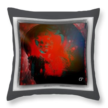 Nevermind Throw Pillow