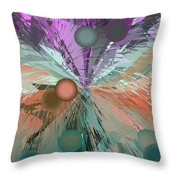 New Art By Nico Bielow Throw Pillow
