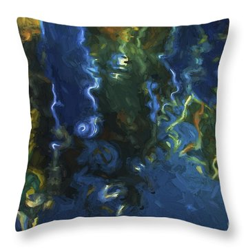 New Bedford Waterfront IIi Throw Pillow by David Gordon