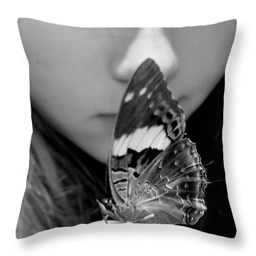 New Beginning Throw Pillow