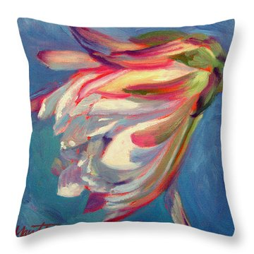 Cactus Flower Throw Pillows