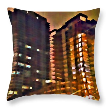 New Construction 2 Throw Pillow