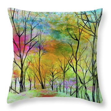 New Dawn New Day New Life Throw Pillow