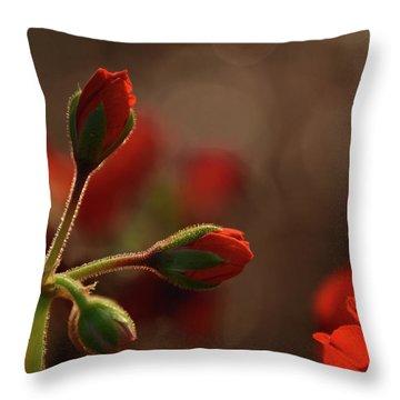 New Day Beauties - Georgia Throw Pillow