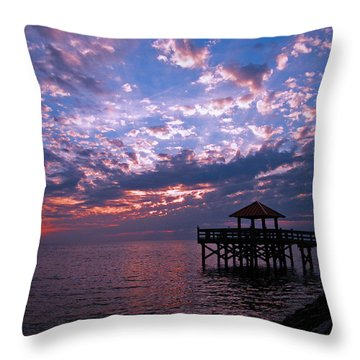 New Day Dawning Throw Pillow by Brian Wright