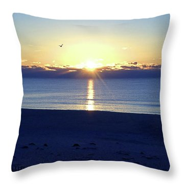 New Day I I Throw Pillow by Newwwman