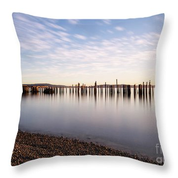 New Day In The Bay Throw Pillow