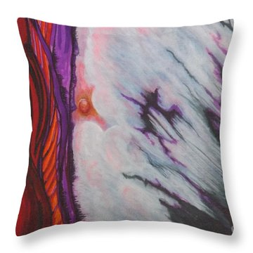 New Earth Throw Pillow