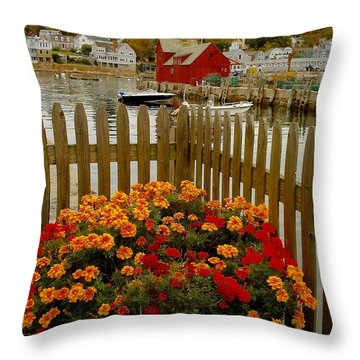 New England Delight Throw Pillow