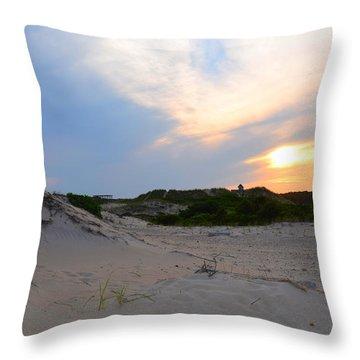 New England Paradise  Throw Pillow