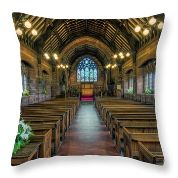 New Every Morning Is The Love Throw Pillow