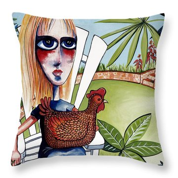 New Friends Throw Pillow