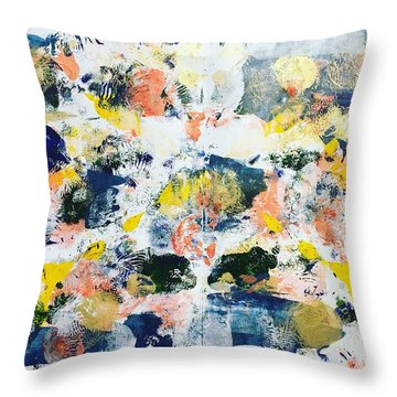 New Haven No 3 Throw Pillow