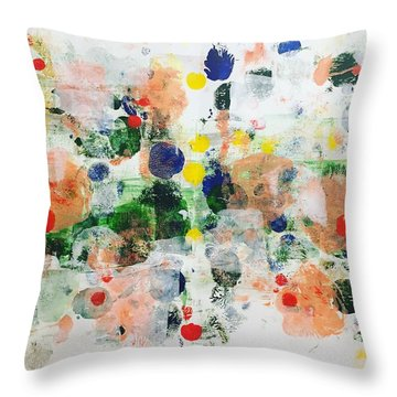 New Haven No 4 Throw Pillow