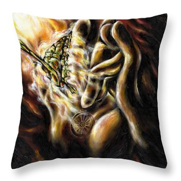 New Journey Throw Pillow