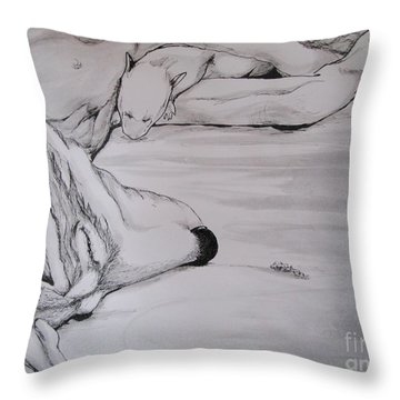 New Life Throw Pillow