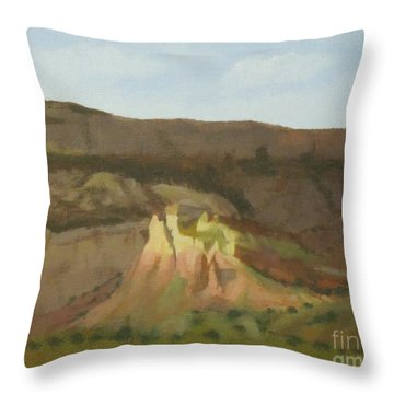 New Mexican Statues Throw Pillow
