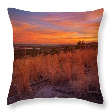 New Mexican Sunset Throw Pillow