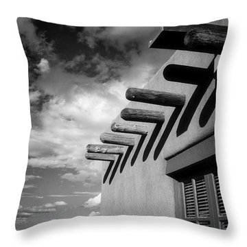 New Mexico Afternoon Throw Pillow