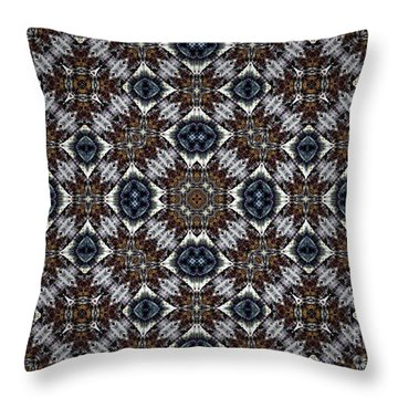 New Mexico Blues Throw Pillow