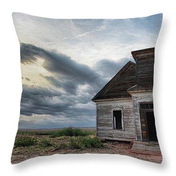 New Mexico Church # 2 Throw Pillow