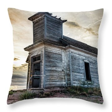 New Mexico Church #3 Throw Pillow