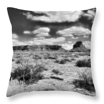 Throw Pillow featuring the photograph New Mexico by Jim Walls PhotoArtist