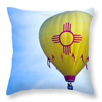 New Mexico Shines Throw Pillow