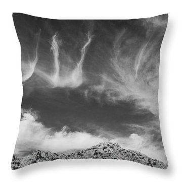 New Mexico Sky Throw Pillow
