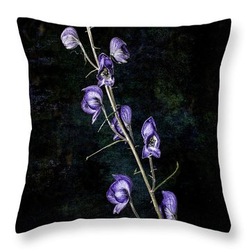 New Monkshood Throw Pillow