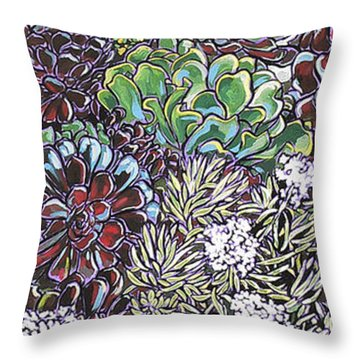 New Moon Boutique Throw Pillow by Nadi Spencer
