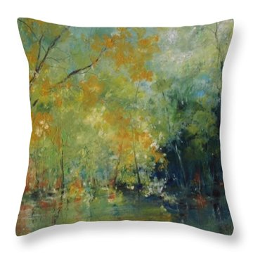 New Morning #4 Throw Pillow